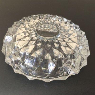 画像3: ビンテージ・リビー 灰皿 ダイヤモンドカット・クリアガラス カナダ製