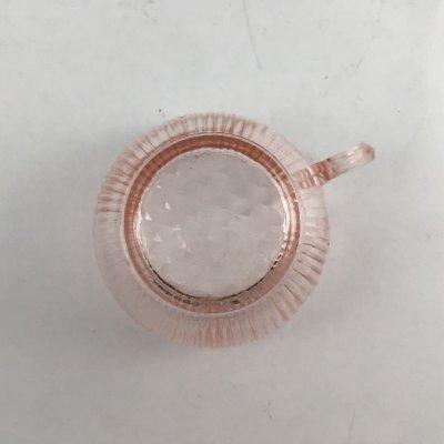 画像4: ジャネットグラス 子供用おもちゃ カップ&ソーサー ピンク・ホームスパン 1939~1949