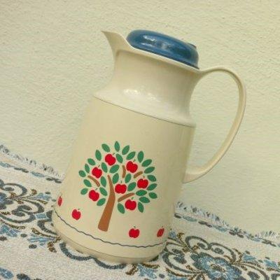 画像1: ビンテージ・サーモス 1984年 りんごの魔法瓶 西ドイツ製
