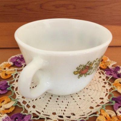 画像2: パイレックス ミルクグラス スパイスオブライフ ぽってりカップ
