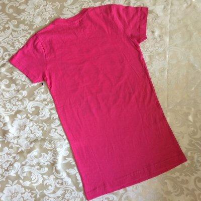画像4: 新品タグ付き  Tシャツ スヌーピー「2015年 アイ・ラブ・ボストン」ピンク ガールズS  2015年