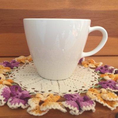 画像1: コーニング コーニング センチュラ ホワイトクーペ コーヒー/ティー・カップ(ディスコンティニュー)