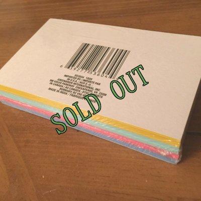 画像4: sold 新品カラーインデックスカード(小)罫線入4色100枚パック インド製