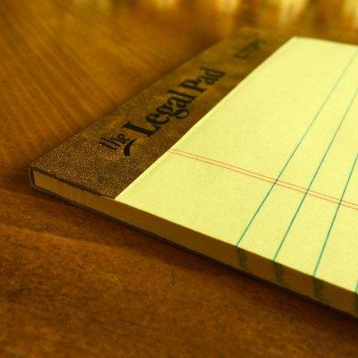 画像2: 新品リーガルパッド インデックスカードサイズ50枚 アメリカ製