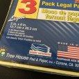 画像3: sold 新品リーガルパッド インデックスカードサイズ30〜40枚 3冊セット アメリカ製 (3)