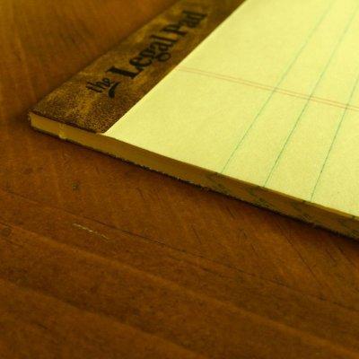 画像3: 新品リーガルパッド レターサイズ50枚 アメリカ製