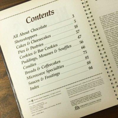 画像2: ハーシーズ チョコレート・クッキングブック  1989年