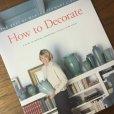 画像1: マーサスチュアート How to Decorate ソフトカバー 1996 (1)