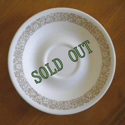 画像1: sold コレール/コーニング ウッドランド ソーサー AS IS