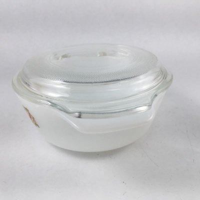 画像2: ファイヤーキング ミルクグラススパイスオブライフ ミニ・キャセロール フタ付 12oz (350ml)