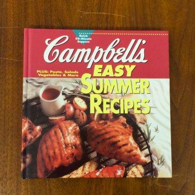 画像1: キャンベル 簡単なサマー・レシピ  Cook Book 1995