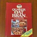 クエーカーオーツ ブラン(暖かいシリアル) Cook Book 1989