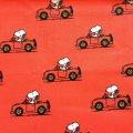 スヌーピー 2019年新作生地 赤いオープンカー(ユナイテッド フィーチャー シンジケイト社)