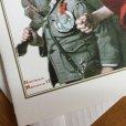 画像2: ノーマン・ロックウェル 1919年作品「英雄帰還」 2002年新品未使用ブランク・グリーティングカード (2)