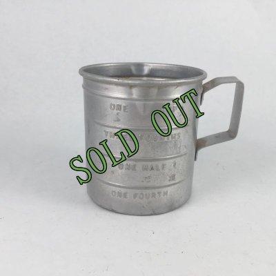 画像1: sold ビンテージ アルミ 計量カップ