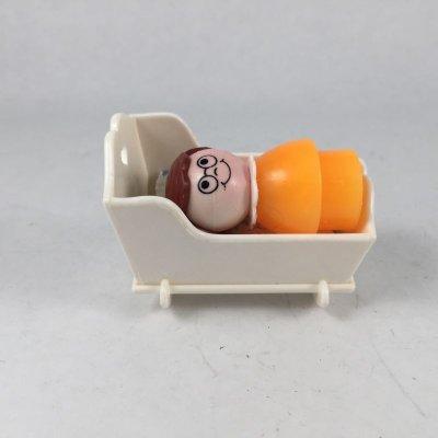 画像2: ビンテージ フィシャープライス ベビーベッドに寝るベビー 3pc セット