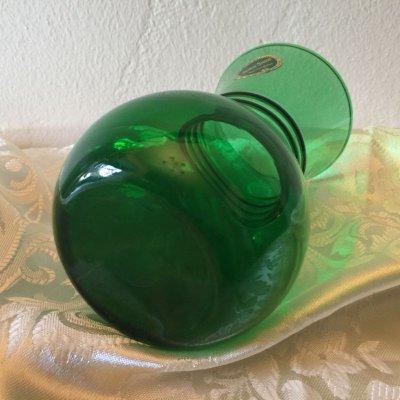 画像4: ファイヤーキング フォレストグリーン(1950年〜1965年)花瓶 新品?!!