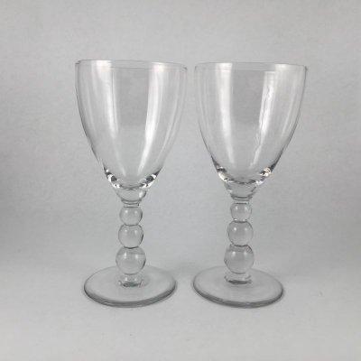 画像1: キャンドルウィック ワイングラス 2PC セット