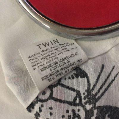画像4: キルバン・キャッツ 赤いマント ツインサイズ フラットシーツ