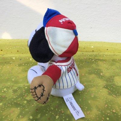 画像3: スヌーピー メットライフ非売品ぬいぐるみ 野球選手