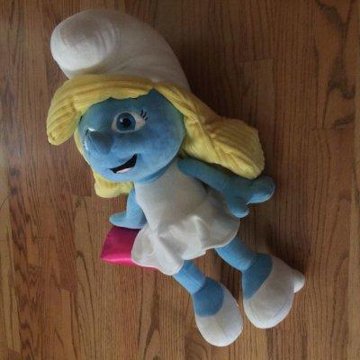 画像2: オシャレなスマーフェット ぬいぐるみ人形