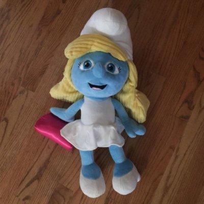 画像1: オシャレなスマーフェット ぬいぐるみ人形