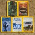 雑誌 ナショナルジオグラフィック 2009〜2010年 5冊セット