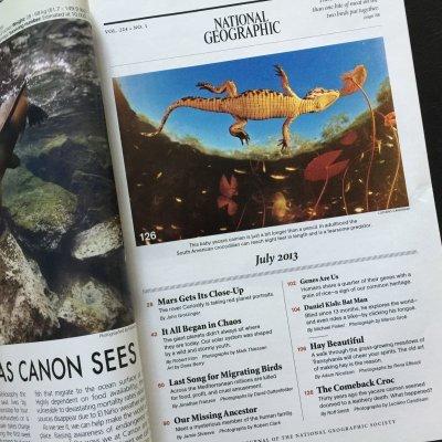 画像2: 雑誌 ナショナルジオグラフィック 2013年7月号