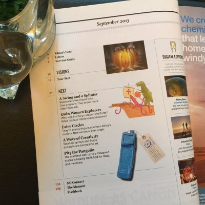 画像2: 雑誌 ナショナルジオグラフィック 2013年9月号