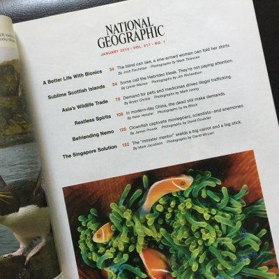 画像2: 雑誌 ナショナルジオグラフィック 2010年1月号