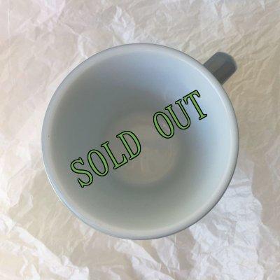 画像3: sold パイレックス ミルクグラス カラーマグ スチールブルー
