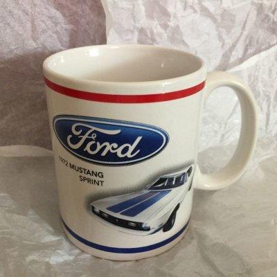 画像2: フォード マスタング コレクターズ・マグ 1972年スプリント