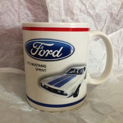 画像1: フォード マスタング コレクターズ・マグ 1972年スプリント