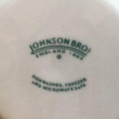 画像5: ジョンソンブラザーズ ブルーウィロー サラダボウル  made in England