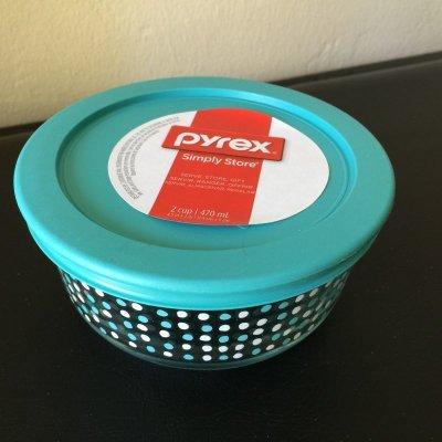 画像2: 新品パイレックス 2020年限定販売コレクション ドゥードゥル 2カップ(470ml) 保存容器 密閉フタ付