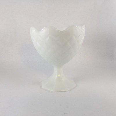 画像2: ナプコ ミルクグラス コンポート/プランター 60s'