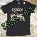 sold 新品タグつき  ユーモアTシャツ スヌーピー/ジョー・クールとQUEENの仲間たち 黒 サイズーS