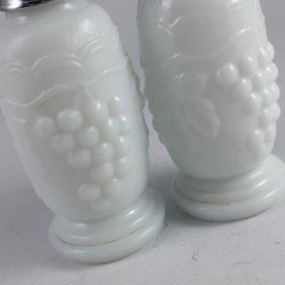 画像5: ウェストモーランド ミルクグラス パネルドグレープ ソルト&ペッパー