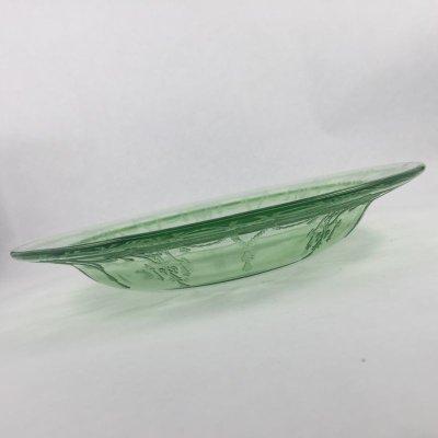 画像2: アンカーホッキング ディプレショングラス カメオ・バレリーナ グリーンボウル 1930-1934