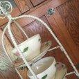 画像8: ワイヤー・ディスプレイ用可愛いカップ&ソーサーホルダー 白