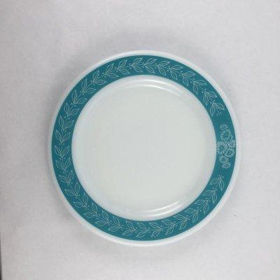画像1: コーニング ローレル・アクアブルーリーフ テーブルウエア サラダ・プレート