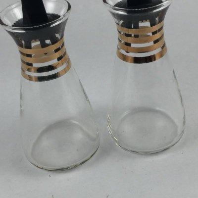 画像3: ビンテージパイレックス オイル&ビネガーガラス・ボトルセット 1960's