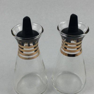 画像5: ビンテージパイレックス オイル&ビネガーガラス・ボトルセット 1960's