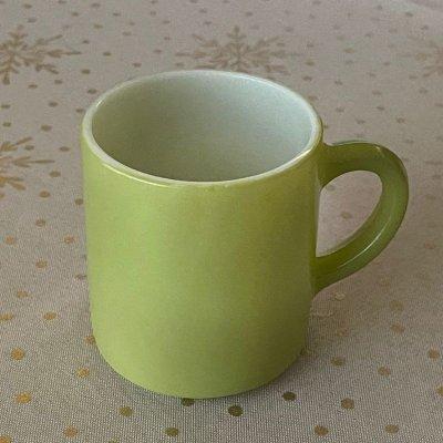 画像1: ミルククラス ライムカラー マグ