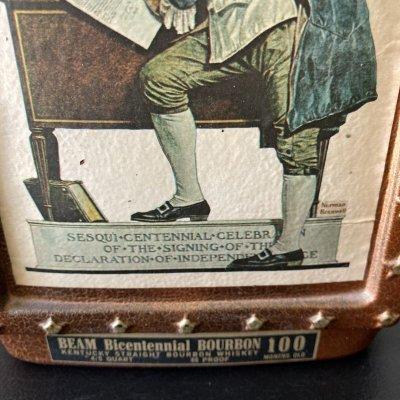 画像2: ノーマン・ロックウェル 1976年ジムビーム創業(誕生?)200年記念バーボンウイスキーボトル サタデーイブニングポスト紙コレクション 1926年5月29日号「インディペンデンス または ベンジャミン・フランクリン」」