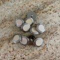 アイボリー クリームクッキー・ボタン 5pc セット