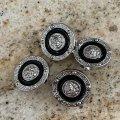 ブラック シノワーズ スタイル ボタン 2PC(L) セット