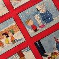 スヌーピー 新品生地 クリスマス・スクエアー 2011