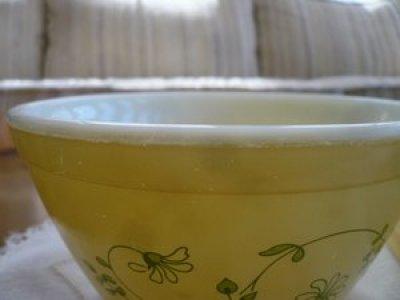 画像2: パイレックス ミルクグラス シェナンドー ミキシングボール M&Sサイズ セット