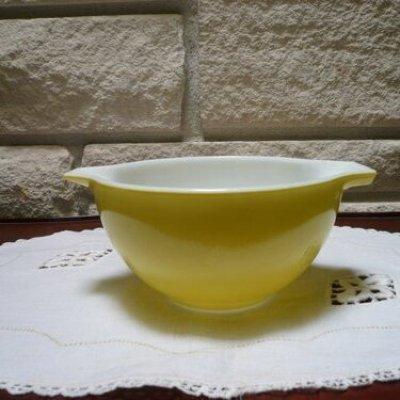 画像1: Pyrex, Cinderella Bowl (S) Yellow